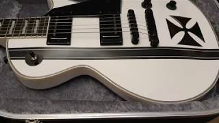 ESP LTD Iron Cross James Hetfield Metallica Signature Guitar Up Close Video Review