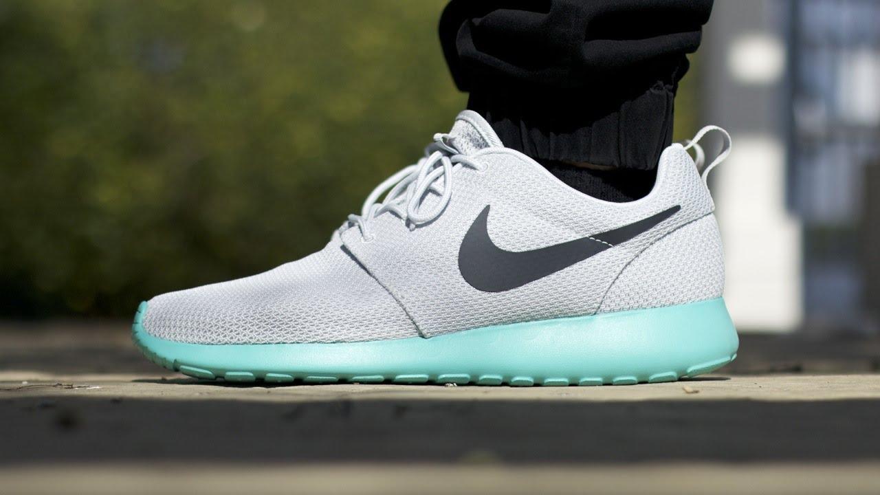 Nike Roshe Run Quot Calypso Quot On Feet Youtube