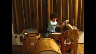 Cardboard Drumming Foot pedal, double, kick DIY