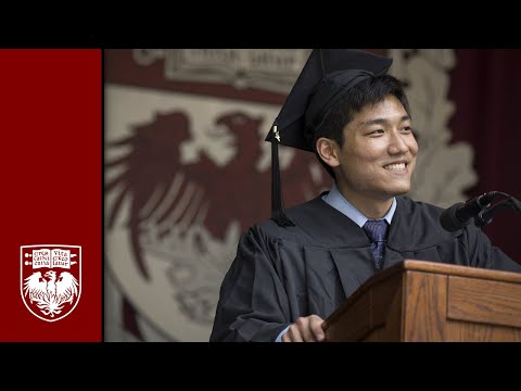 The 523rd Convocation – Undergraduate Student Speeches – The University of Chicago