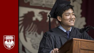 The 523rd Convocation – Undergraduate Student Speeches – The University of Chicago thumbnail