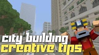 Minecraft Xbox 360/One: Basic City Building Tips!