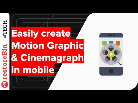 Easily create a Motion Picture or Cinemagraph using an Android app: Zeotropic App