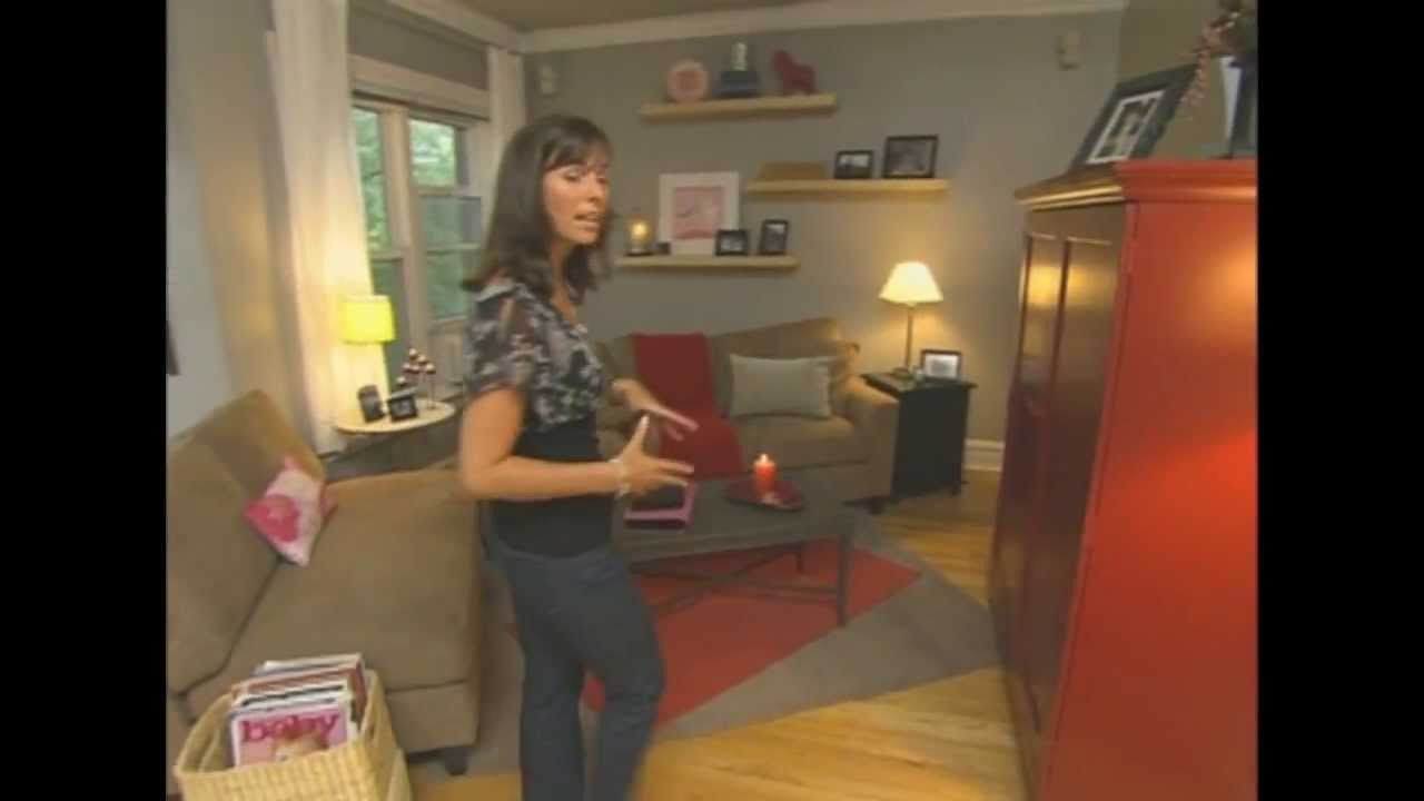 Odd Shaped Living Room Furniture Placement How To Design A Small Apartment Hgtv Redesigner Kim Smart Takes On An L Youtube