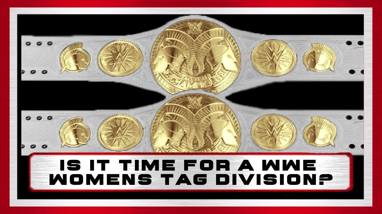 Why WWE Needs A Women's Tag Team Championship - Wood ...