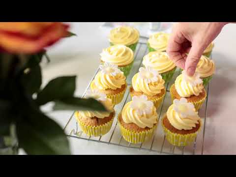 How To Ice Cupcakes Bbc Good Food Youtube