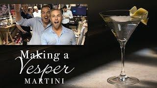 Make the Perfect Vesper Martini
