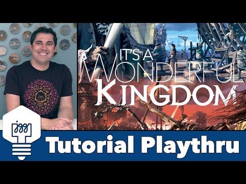 Its A Wonderful Kingdom - Tutorial & Playthrough