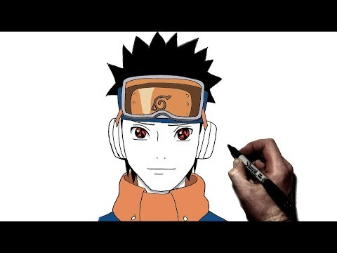 How To Draw Young Obito | Step By Step | Naruto