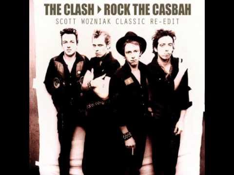 The Clash  ROCK THE CASBAH Scott Wozniak Classic ReEdit