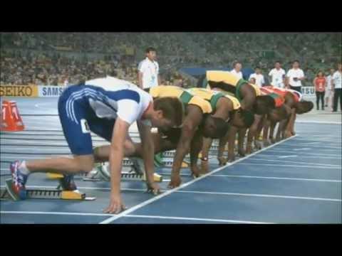 Usain Bolt - False Start at Daegu 2011 World Championship Full HD