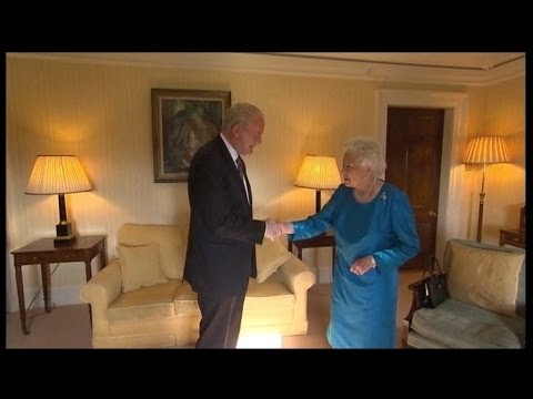 McGuinness praises Queen Elizabeth's support of NI peace process