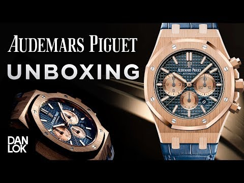 Unboxing Audemars Piguet Watch