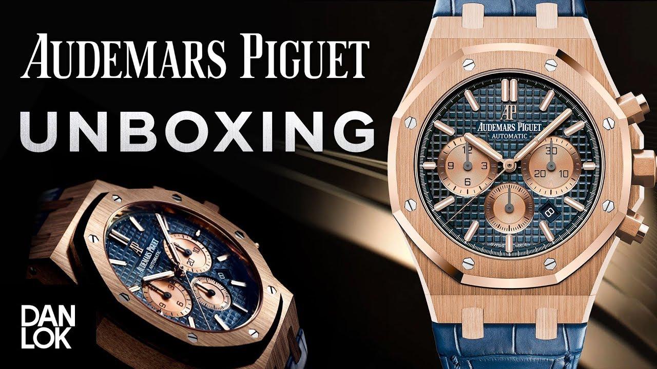 8131388f7 Unboxing Audemars Piguet Watch - YouTube
