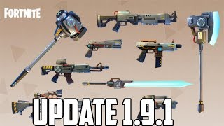 Vindertech, Smokebombs and More | Fortnite Update 1.9.1 Overview