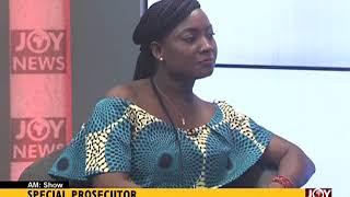 Martin Amidu As Special Prosecutor - AM Talk on JoyNews (12-1-18)