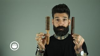 How I Tame a Thİck & Curly Beard | Carlos Costa
