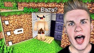 SEKRETNA BAZA BOBO pod MILIONOWICAMI w Minecraft!