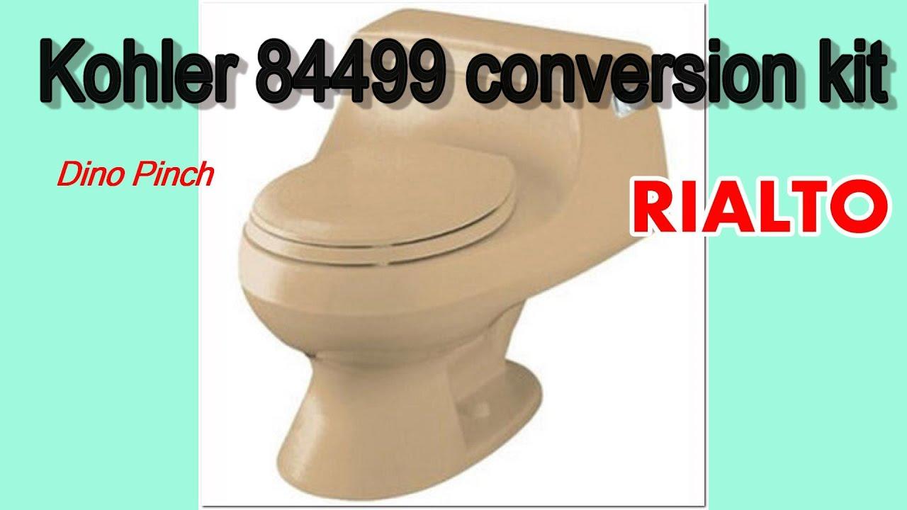 Kohler Rialto toilet SOLVED - YouTube