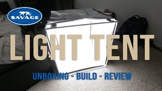 Photography Gear | Savage Light Tent Unboxing - Build - Review