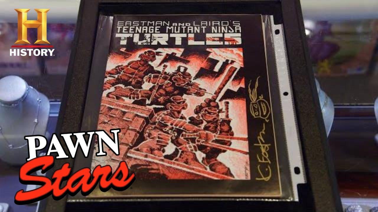 Pawn Stars: MEGA MONEY for SUPER RARE Teenage Mutant Ninja Turtles Comic (Season 17) | History