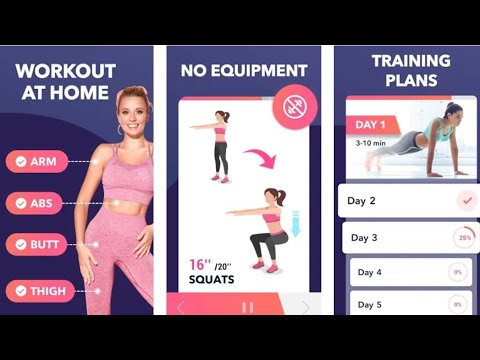 lose weight app for women  workout at home  youtube