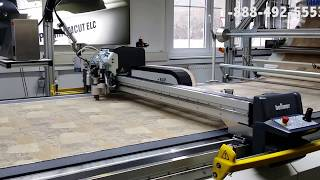 UPHOLSTERY FABRIC, COMPOSITE, APPAREL AUTOMATED CNC CUTTER & ROLL FEEDER thumbnail