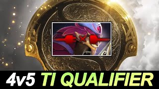 WTF 4v5 on The International 2021 Qualifier — FIRST TIME in Dota 2 History