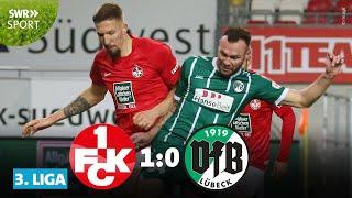 Der 1. fc kaiserslautern hat in 3. liga seinen ersten heimerfolg gefeiert: am 12. spieltag siegten die roten teufel gegen aufsteiger vfb lübeck dank eine...