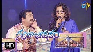 Sarasalu  Song    Mano, Kalpana Performance   Swarabhishekam   29th April 2018   ETV Telugu