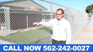 Industrial Chain Link Fencing Companies Orange County CA (562) 242-0027