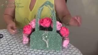 Сладкий подарок (цветы с конфетами) ♥ Сумочка, Розы♥ На заказ(ДС Ваш Сладкий Букет http://www.dsvsb.ru/ Мы на YouTube https://www.youtube.com/channel/UCEVs1MRnNRRJ86z2FS5Bu_Q Мы в ВКонтакте ..., 2016-06-22T08:22:44.000Z)