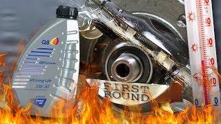 Q8 VX Longlife 5W30 Jak skutecznie olej chroni silnik? 100°C