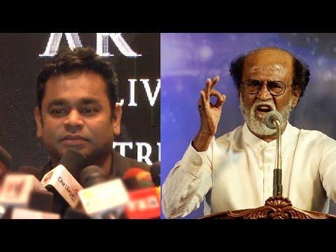 AR Rahman Speaks About Rajinikanth's Political Entry