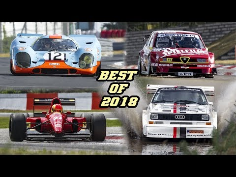 BEST OF 2018 - Motorsport sounds (S1 Quattro PikesPeak, F1 GTR, 917, 155 TI DTM, F1, Rally, GT, ...)