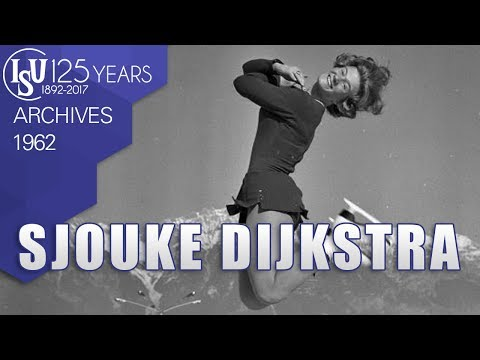 Sjouke Dijkstra (NED)  - World Championships Prague 1962 - ISU Archives
