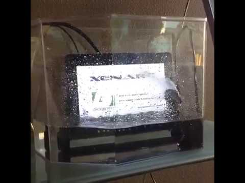 Xenarc LCD Industrial Touch Screen Display Monitors Waterproof Demonstration