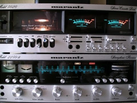 Marantz 2250b and 5020 review test