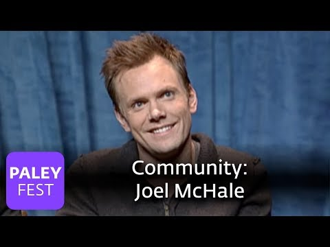"Community - Joel McHale on the ""Naked Pool Match"" (Paley Center, 2010)"