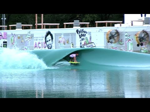 PROS Surfing Glassy PERFECTION at TEXAS Wavepool