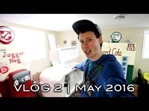 Monthly Vlog 2 | May 2016 (Getting Ready for NERF ZOMBIES!)