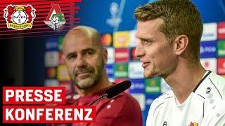 """Man muss Heimspiele gewinnen""   PK mit Lars Bender & Peter Bosz vor Lok Moskau   Champions League"