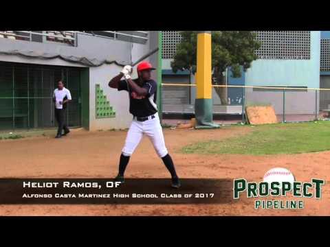 Heliot Ramos Prospect Video, OF, Alfonso Casta Martinez High School Class of 2017