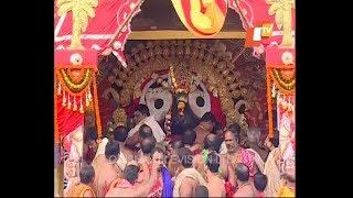 Lord Jagannath, Balabhadra, Devi Subhadra Suna Besha - Rath Yatra 2017