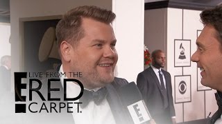 James Corden Jokes About Sia's Appearance on Carpool Karaoke | Live from the Red Carpet | E! News