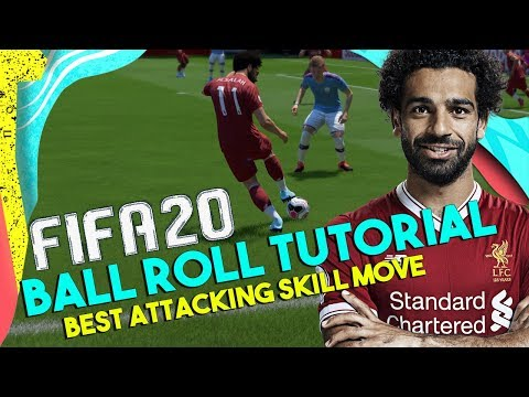 FIFA 20 Ball Roll Tutorial | How To Ball Roll In FIFA 20 | Best FIFA 20 Skill Move | FIFA 20