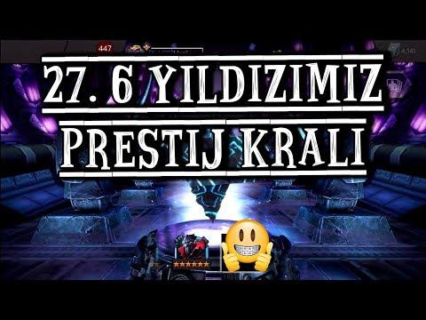27. 6 YILDIZIMIZ PRESTİJ KRALI - MCOC  6 STAR CRYSTAL OPENING PRESTIJ KING