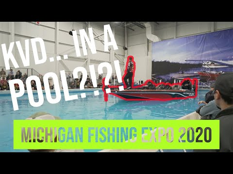 Michigan Ultimate Fishing Show 2020 - Novi Michigan
