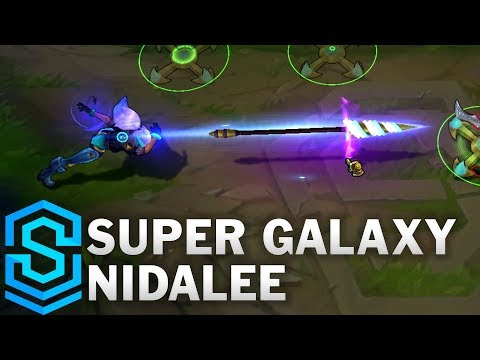 Super Galaxy Nidalee Skin Spotlight - League of Legends