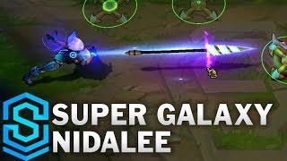 Super Galaxy Nidalee Skin Spotlight - League of Legends